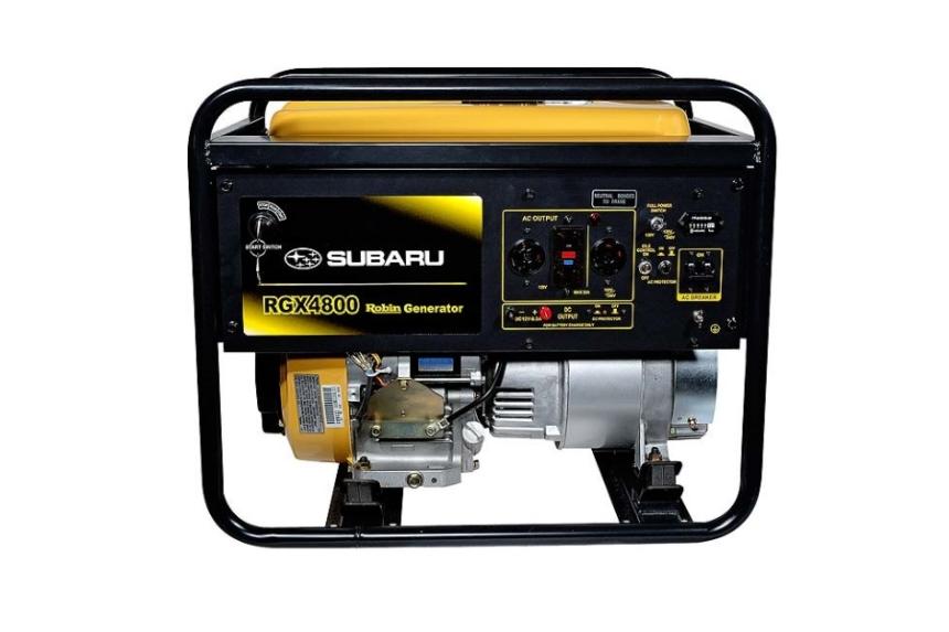 Мощные электростанции Robin Subaru RGX 4800E