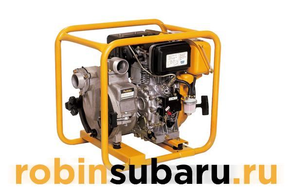 Дизельная мотопомпа Robin Subaru PTD 206T
